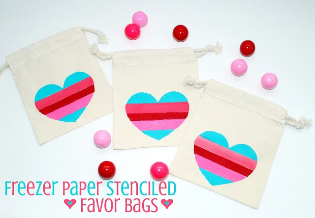 FreezerWaxStencilFavorBags