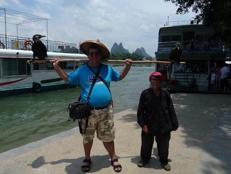 Ce e de facut in Yangshou: haltere cu pasari