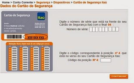 itau-cartoes-chave-de-seguranca-pagamento-conta-online-www.2viacartao.com