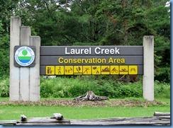 4746 Laurel Creek Conservation Area sign
