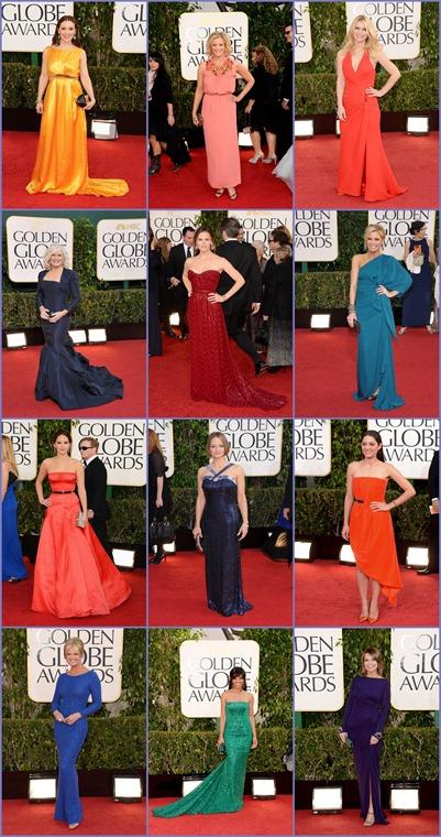 Golden Globes Colores Varios