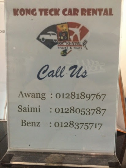 Kong Teck - Car hire at Sibu, Airport