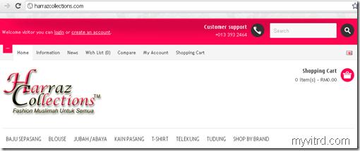 Harraz collections dot com