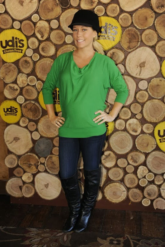Kendra Wilkinson at Udis Gluten Free Table at Sundance