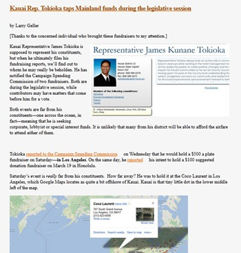 Tokioka article