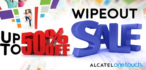Alcatel Wipe-Out Sale June 2013
