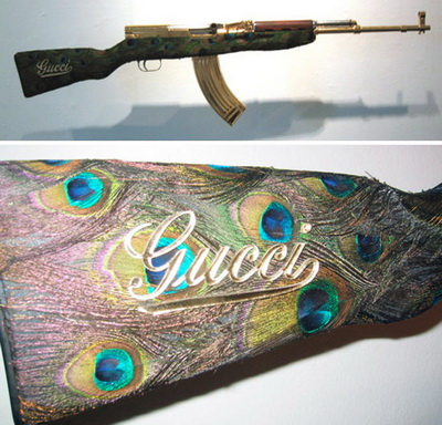 Gucci rifle