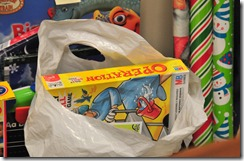 WNED-WBFO is participating in the Child & Family Services Adopt-a-Family holiday program this year. Santa's elves still need to wrap these gifts. They better hurry!
