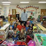 WBFJ Cici's Pizza Pledge - Caleb's Creek Elementary - Ms. Kidd's Kindergarten Class - Kernersville -