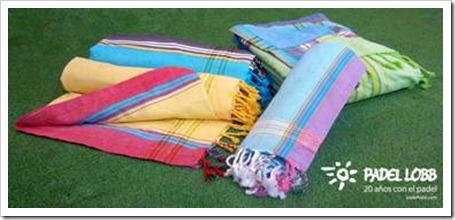 coleccion padel lobb verano 2011 toallas