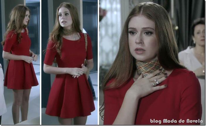 da personagem Nicole na novela Amor à vida a marca Moda de Novela ...