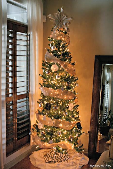 neutral tree christmas