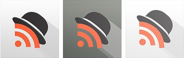 Mr reader ipad rss reader icon design history final version