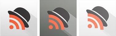 Mr reader ipad rss reader icon design history final version