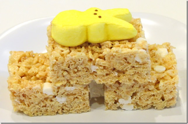 Lemon Vanilla Rice Krispies Treats 3-21-13