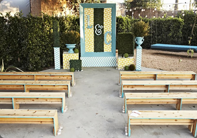 intimate ceremony site 1960s-rock-n-roll-wedding-inspiration-3  Shawna Yamamoto Event Design and scott clark photo