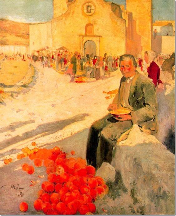 joaquim mir i trinxet_Vendedor de naranjas (1896)