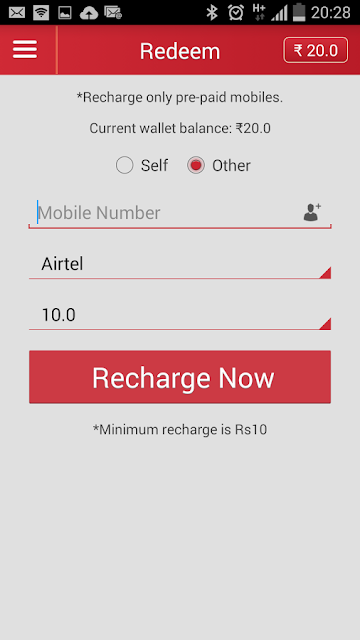 MagicRecharge a new earning app