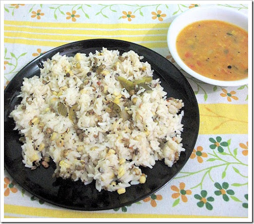 green gram upma