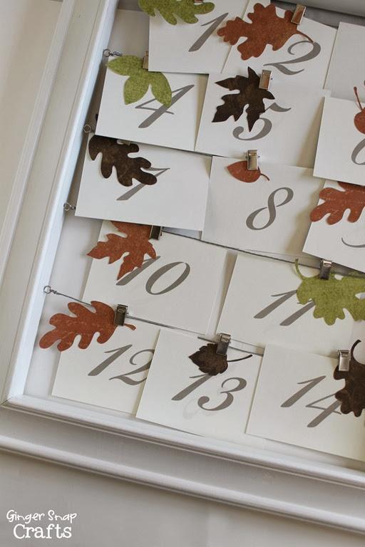 Thanksgiving Countdown #ad