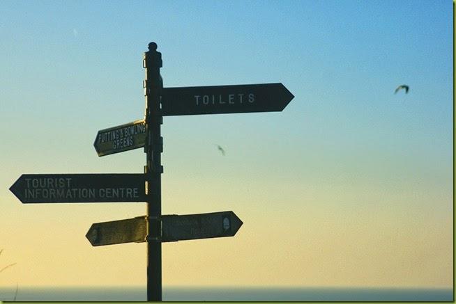 Cromer signpost