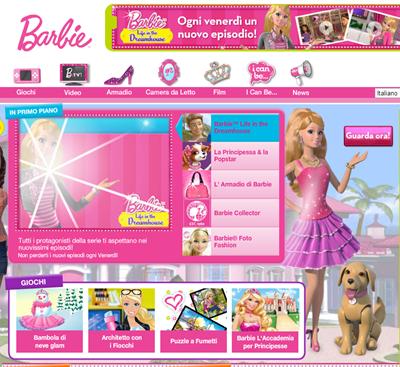 barbie interattiva