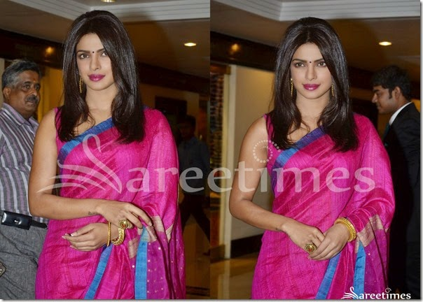 Priyanka_Chopra_Pink_Silk_Saree(2)