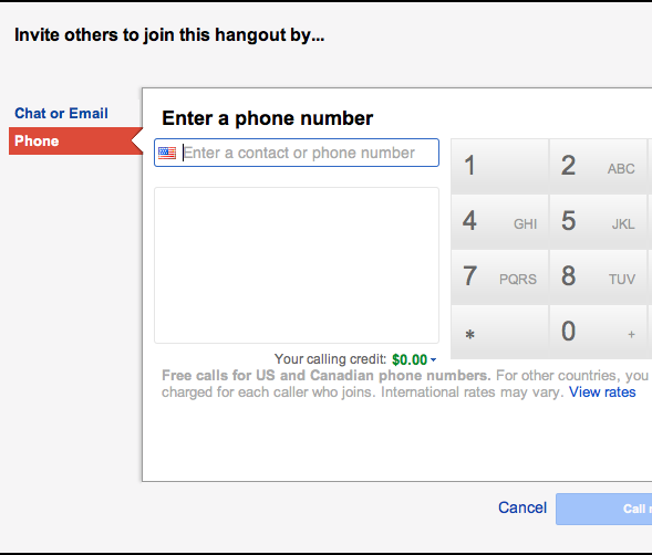Cara Menelepon Gratis dengan Google+ Hangouts