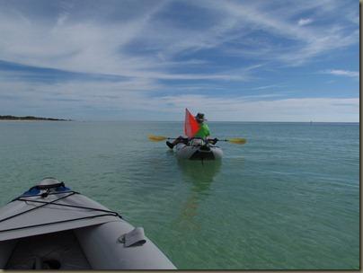 kayaking at Bahia honda SP