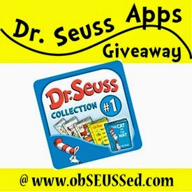 Seuss app giveaway 15 obSEUSSed