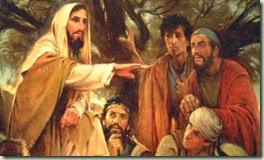 Jesus preaching - 01