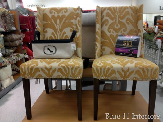 TJ Maxx always has a great selection of Cynthia Rowley chairs  My store had  a bunch  including these adorable yellow chairs and. Blue 11 Interiors  Beautiful Chairs at TJ Maxx