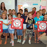 WBFJ Cici's Pizza Pledge - Walkertown Elementary - Mrs. Simpson's 2nd Grade Class-Walkertown-9-5-12
