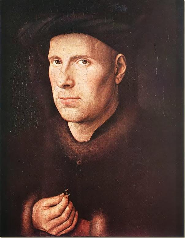 Van Eyck, Portrait d'orfèvre