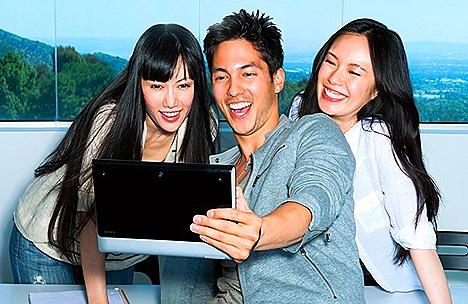 Sony Tablet S weightless