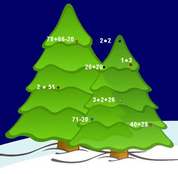 Calcoli matematici sull 39 albero di natale for Maestra renata