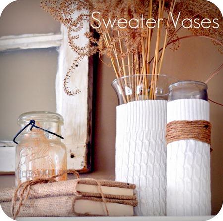 thriftydecoratingblog.sweatervases