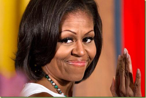 Michelle Obama DC Cop