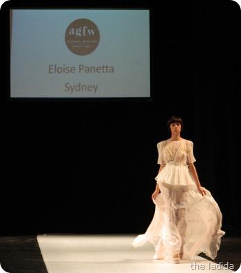 Eloise Panetta  - AGFW Fashion Show 2012 (1)