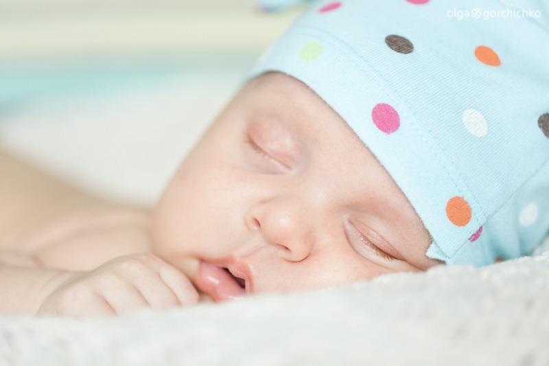 Андрюша, 6 недель. Фотосессия новорожденного