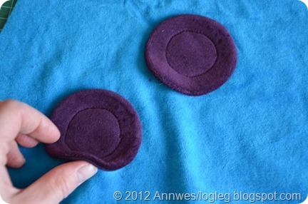 How to make appliques with lining