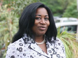 Chantal Kanymbo, président de l'UNPC et journaliste à la RTNC.