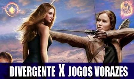 Divergente X Jogos Vorazes