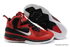 lbj9 fake colorway redblack 0 01 Fake LeBron 9