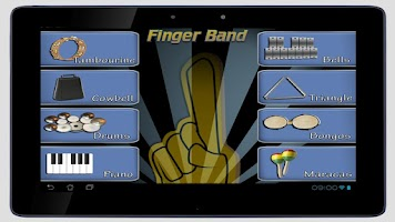 Screenshot of Finger Band Lite HD for Tablet