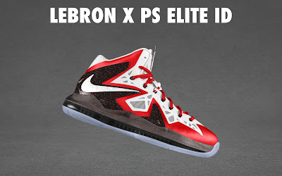 nike lebron 10 ps elite id options preview 1 04 NIKE LEBRON X PS ELITE Coming to Nike iD on April 23rd