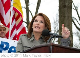 'Michelle Bachman speaking.' photo (c) 2011, Mark Taylor - license: http://creativecommons.org/licenses/by/2.0/