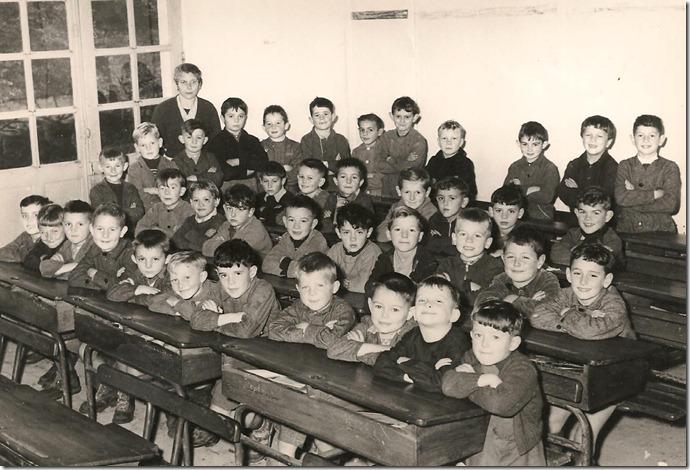 classe de Melle Lecoq 1957