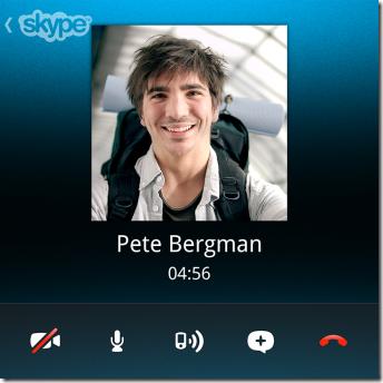 Skype en BB10 Q10
