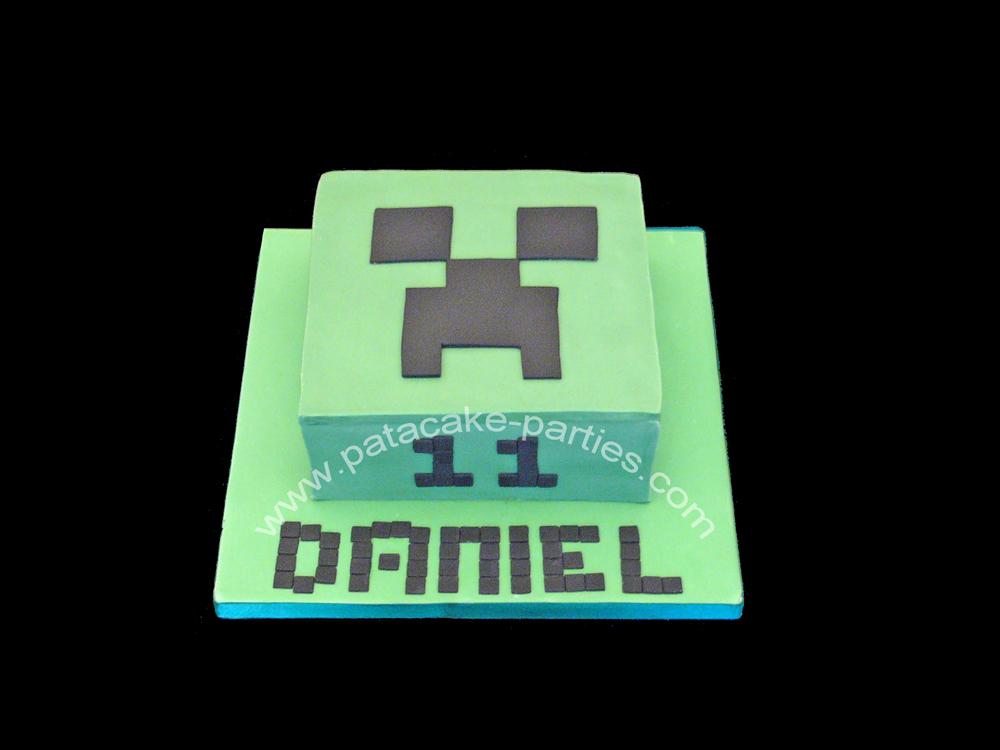 Wiki Minecraft Cake Minecraft Creeper Cake Jpg